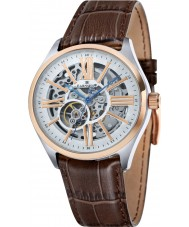 Thomas Earnshaw ES-8037-04 Mens armagh braun Krokolederband Uhr