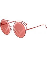 Fendi Damen ff0285 s c9a 0l 63 Lauf Sonnenbrille