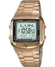 Casio DB-360GN-9AEF Sammlung Datenbank vergoldete Uhr