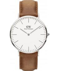 Daniel Wellington DW00100110 Klassische 40mm durham silberne Uhr