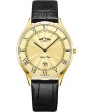 Rotary GS08303-03 Mens ultra schlanke Uhr