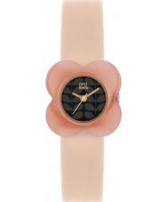 Orla Kiely OK2060 Damen Mohn rosa Blumenkasten nackt Lederband Uhr