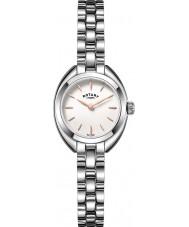 Rotary LB05013-02 Damen Uhren petite Silberton Stahluhr