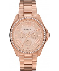 Fossil AM4483 Damen Rose Cecile Gold Stahl Chronograph