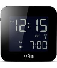 Braun BNC008BK-RC Globale Funkreisewecker - schwarz