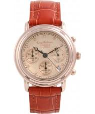 Krug-Baumen 150575DM Prinzip Diamant Herren Rotgold Chronograph