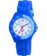 Tikkers TK0002 Kinder blau Gummiuhr