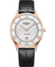 Rotary GS08304-01 Mens ultra schlanke Uhr