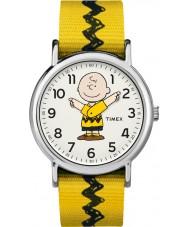 Timex TW2R41100 Peanuts Weekender Uhr