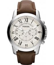 Fossil FS4735 Mens gewähren braun Chronograph