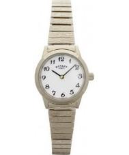 Rotary LB00762 Damen Uhren vergoldet erweiterbar Armbanduhr