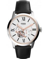 Fossil ME3104 Mens townsman Automatik schwarz Lederband Uhr