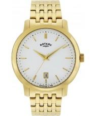 Rotary GB02462-01 Herren-Uhren Sloane vergoldete Uhr