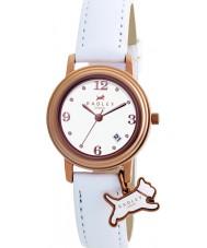 Radley RY2006 Damen Charme weißes Lederband Uhr