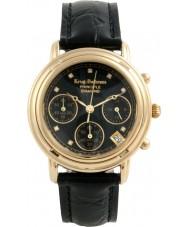 Krug-Baumen 150573DL Damen Prinzip Diamant schwarz Chronograph