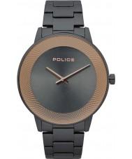 Police 15386JSU-61M Sonnenaufgang Uhr für Herren