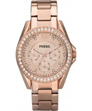 Fossil ES2811 Damen stieg riley Gold Stahl Chronograph