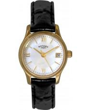 Rotary LS02368-41 Damen Uhren eco Kleid vergoldete Uhr