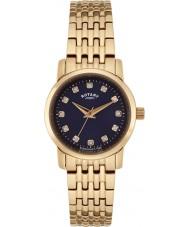 Rotary LB02462-05 Damen Uhren Sloane Rotgold Stahl Armbanduhr