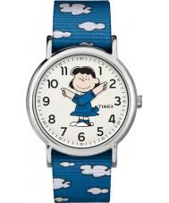 Timex TW2R41300 Peanuts Weekender Uhr
