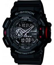 Casio GA-400-1BER Mens g-shock schwarz Chronograph