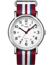 Timex T2N746 Drei Ton Weekender durchrutschen Uhr