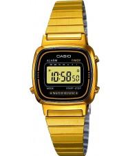 Casio LA670WEGA-1EF Sammlung vergoldet Digitaluhr