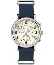 Timex TW2P62100 Weekender blauen Bügel Chronograph
