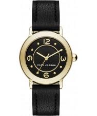 Marc Jacobs MJ1475 Damen riley schwarzes Lederband Uhr