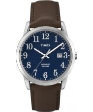 Timex TW2P75900 Mens einfachen Leser blau braun Uhr