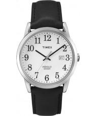 Timex TW2P75600 Mens einfachen Leser schwarzes Lederband Uhr