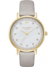 Kate Spade New York KSW1131 Damen monterey grau Lederband Uhr