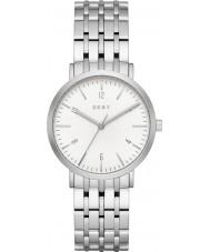 DKNY NY2502 Damen Minetta Silber Stahl Armbanduhr