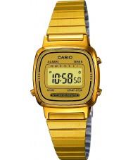 Casio LA670WEGA-9EF Sammlung vergoldete Uhr