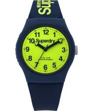 Superdry SYG164UN Städtische Marine Silikonband Uhr