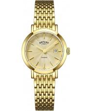 Rotary LB05303-03 Damen Uhren windsor vergoldete Uhr
