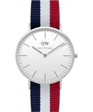 Daniel Wellington DW00100017 Mens klassische 40mm cambridge silberne Uhr