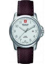Swiss Military 6-4231-04-001 Herren Schweizer Soldat prime braunes Lederarmband Uhr