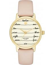Kate Spade New York KSW1059 Damen U-Bahn-braunes Lederband Uhr