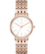 DKNY NY2504 Damen Minetta Rotgold Stahl Armbanduhr