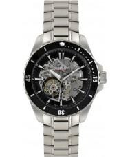 Rotary AGB90078-A-04 Herren Aquaspeed Silber Stahlskelett Automatik-Uhr