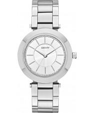 DKNY NY2285 Damen Stanhope Silber Stahl Armbanduhr