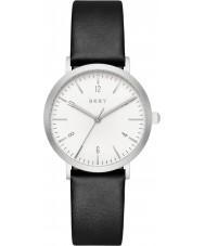 DKNY NY2506 Damen Minetta schwarzes Lederband Uhr