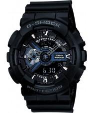 Casio GA-110-1BER Mens g-shock schwarz Combi-Weltzeit-Uhr