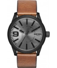 Diesel DZ1764 Mens Raspel hellbraun Lederband Uhr