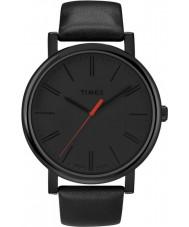 Timex T2N794 Mens schwarz klassische runde Uhr