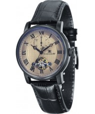 Thomas Earnshaw ES-8042-06 Mens westminster schwarzes Lederband Uhr