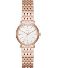DKNY NY2511 Damen Minetta Rotgold Stahl Armbanduhr