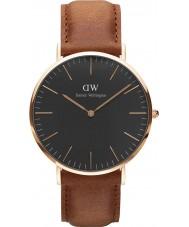 Daniel Wellington DW00100126 Klassische schwarze durham 40mm Uhr