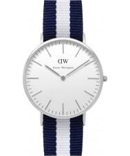 Daniel Wellington DW00100018 Mens klassische 40mm glasgow silberne Uhr